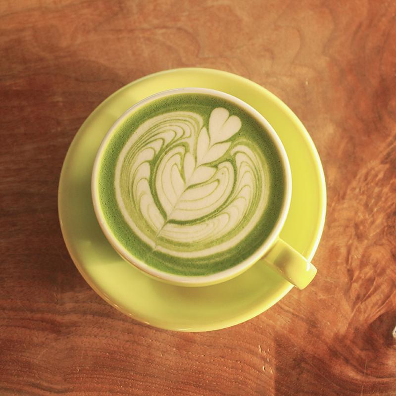 美しいビジュアルにも癒される。抹茶ラテが楽しめる東京のカフェ10選の画像